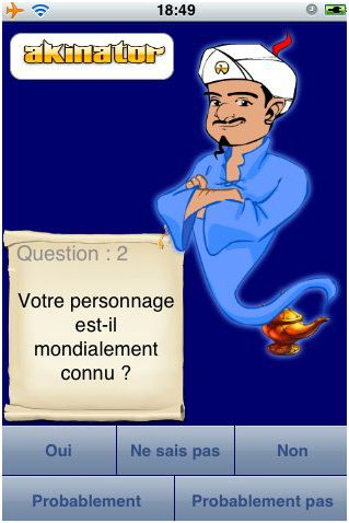 Akinator-iphone-application-store