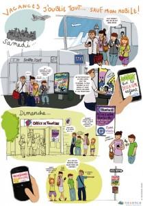 nexence marketing mobile e tourisme cd code 2D
