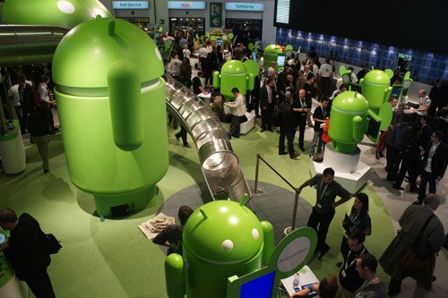 Google Android partout