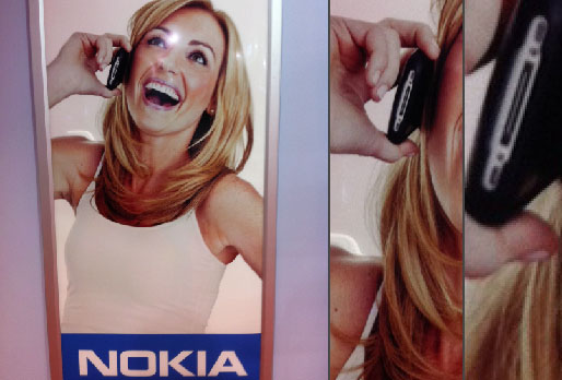 publicite Nokia iphone