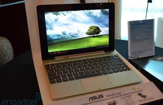 asus transformer prime HD TF700T au CES 2012