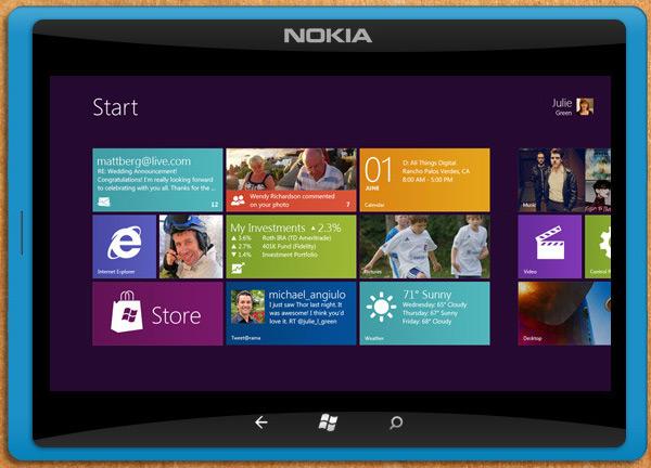 tablette nokia windows 8