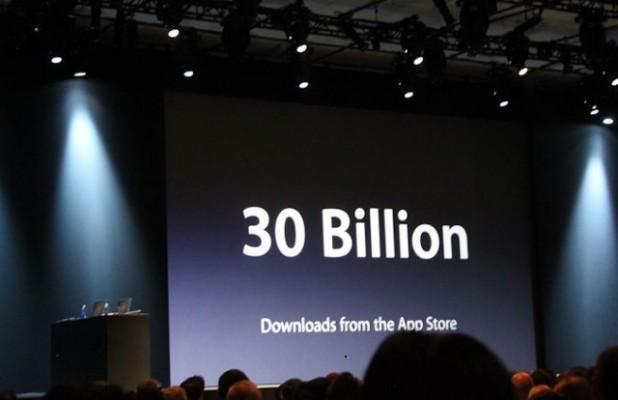 900 millions comptes App Store 650000 Applications