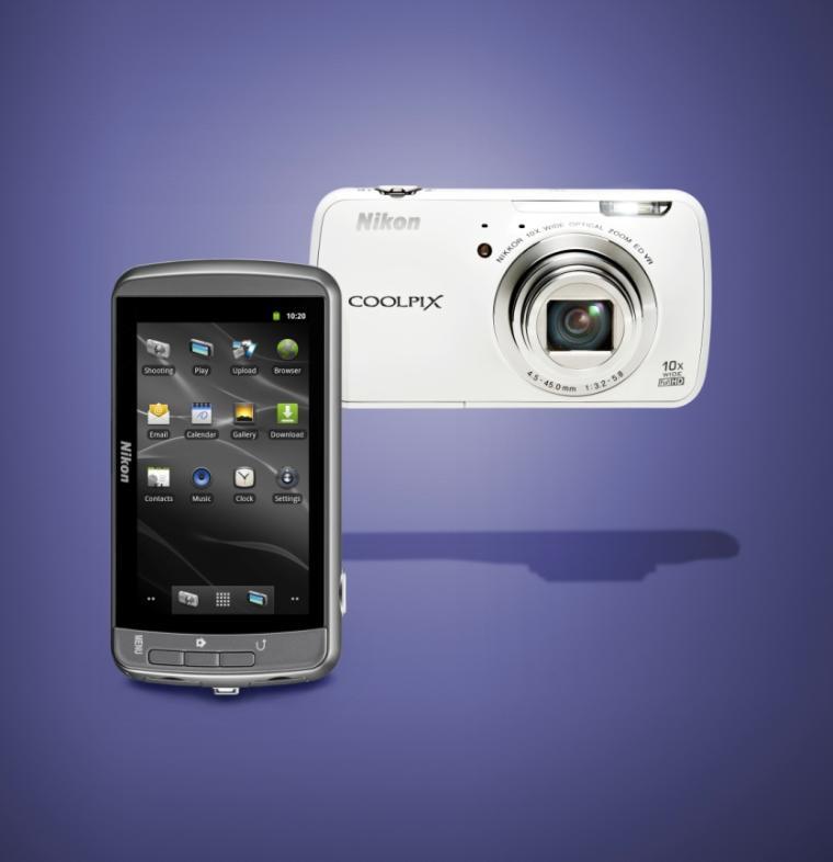 nikon coolpix s800c google android 2