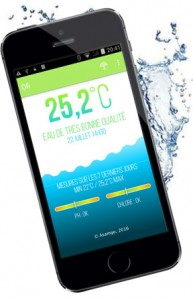 App Ofi analyse eau piscine